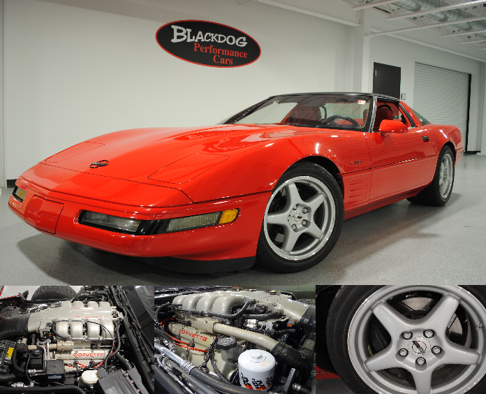 1993 Chevrolet Corvette ZR-1 415 LT5 $43,500