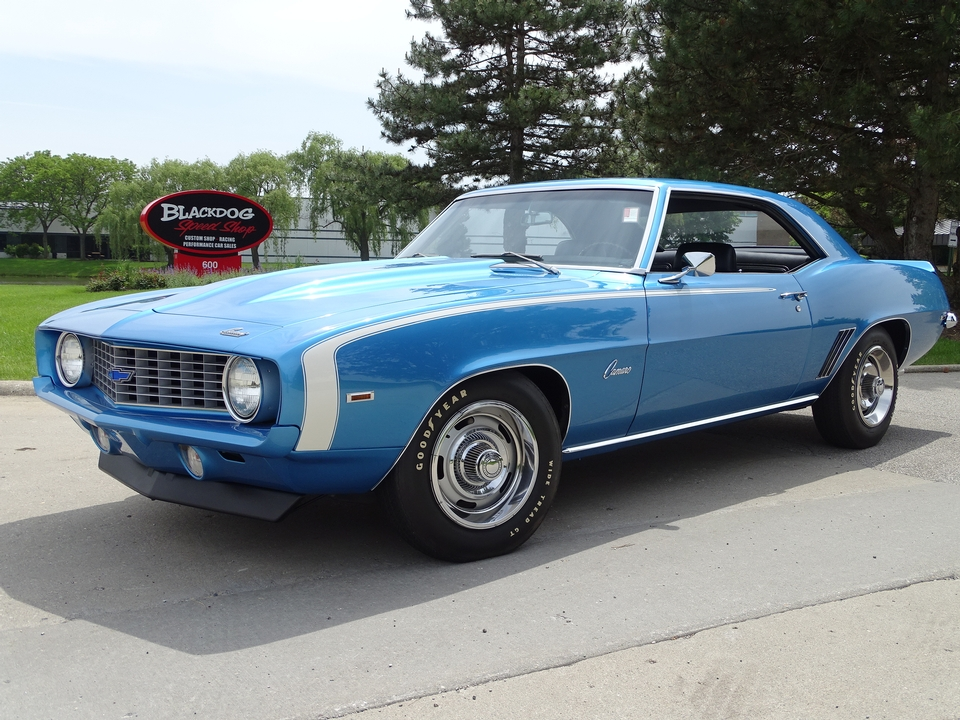 1969 Chevrolet Camaro Berger Double COPO $213,000