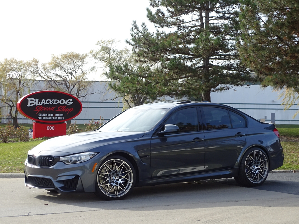2017 BMW M3 6-Speed Competition Package - $60,500