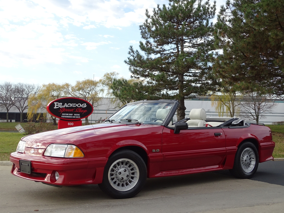 1989 Ford Mustang GT Convertible - $20,900