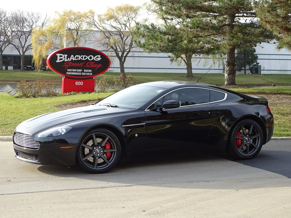 2007 Aston Martin Vantage V8 6-Speed $38,999