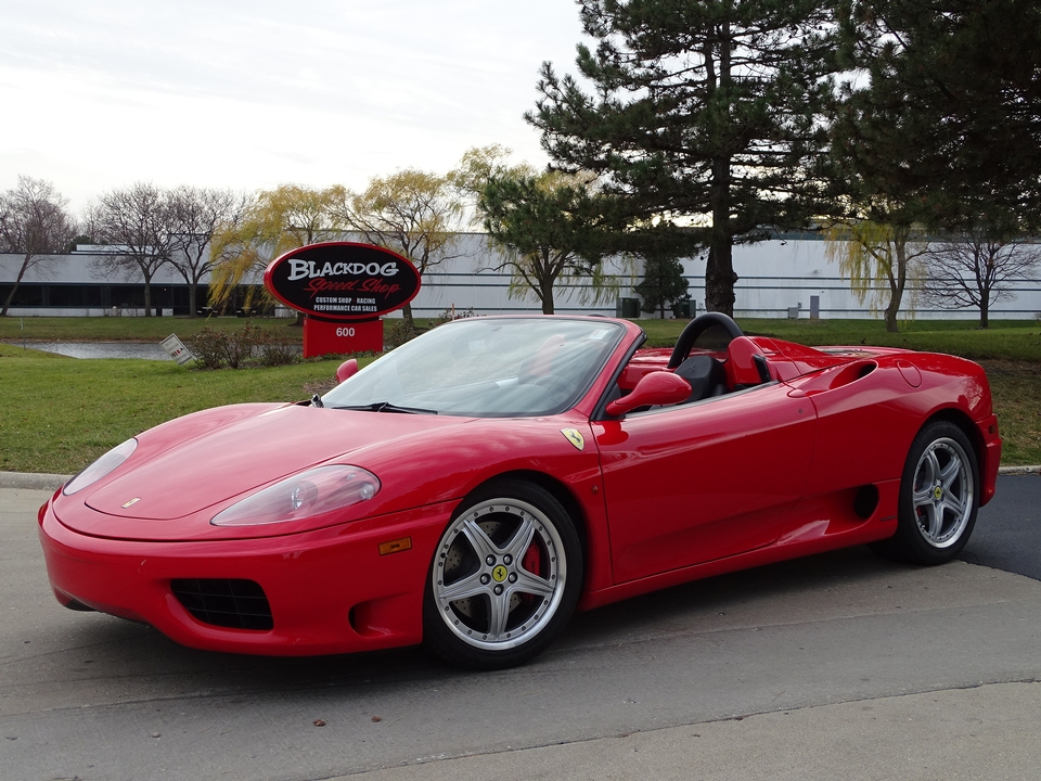Available Soon! 2004 Ferrari 360 Spider Available Soon!